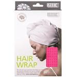 Smart Hairwrap Waffle Hot Pink