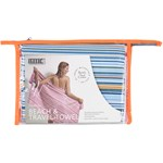 Smart Beachtowel Blue Stripe
