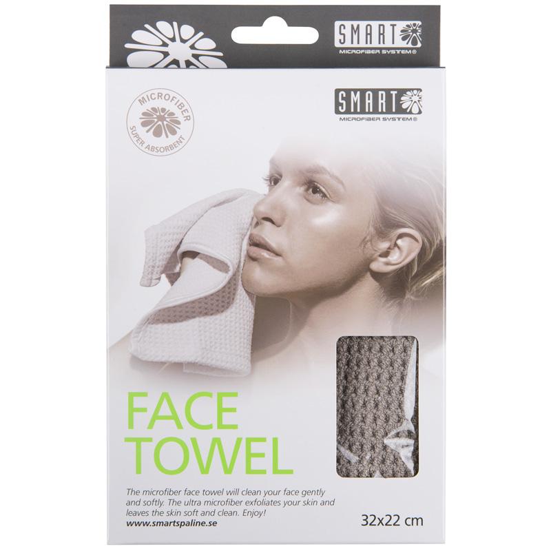 Smart Facetowel Grey