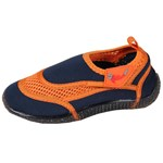 Smiling Shark UPF 50+ UV-skor Navy/Orange