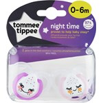 Tommee Tippee Closer To Nature Sugnapp Night Time 2-p, blandade färger,
