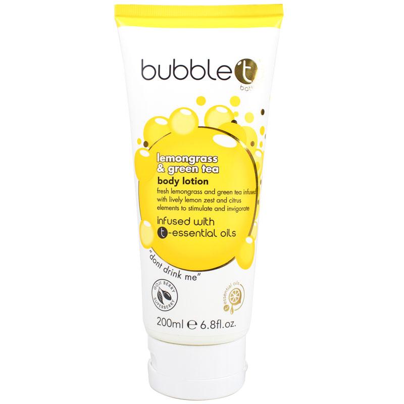 BubbleT Lemongrass & Green Tea Body Lotion 200 ml