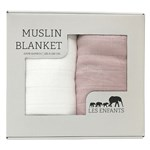 Les Enfants Muslin Blanket 2-pack