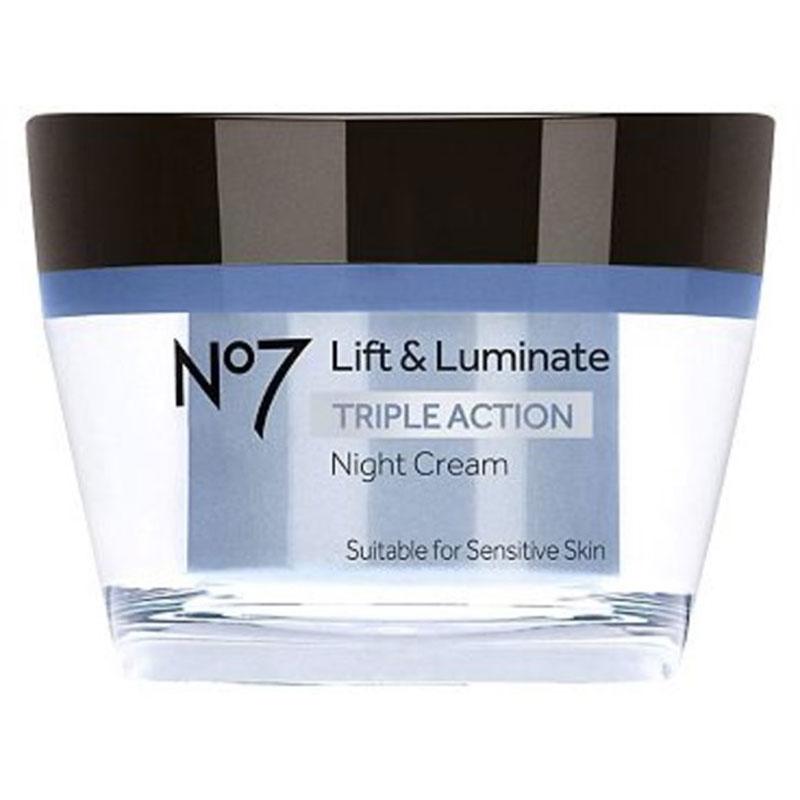No7 Lift and Luminate Triple Action Night Cream 50 ml