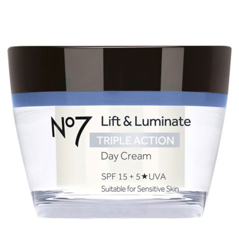 No7 Lift and Luminate Triple Action Day Cream SPF15 50 ml