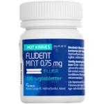 Fludent mint sugtablett 0,75 mg 100 st