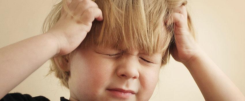 Utslag i hårbotten symtom