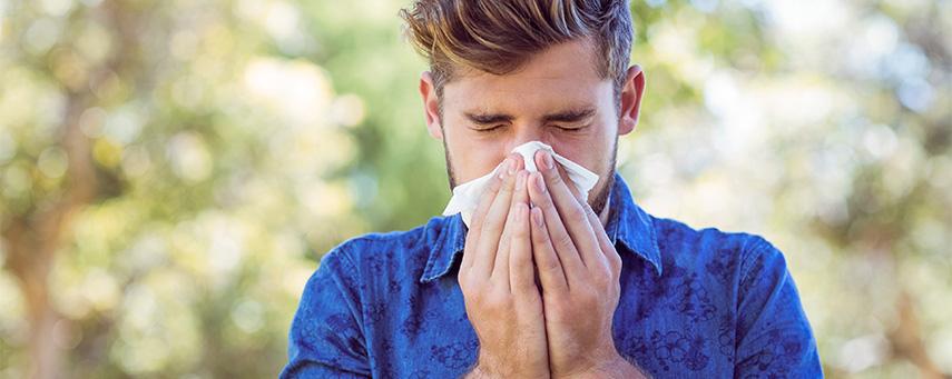 tjock i halsen allergi