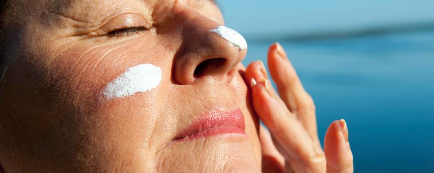 solskydd för näsan