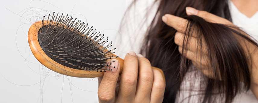 kala fläckar i håret